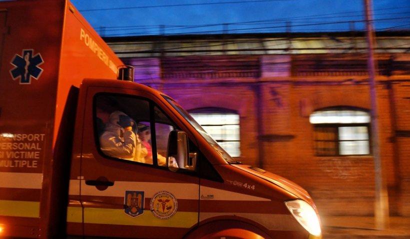 O femeie din Alba a născut prematur, în autospeciala SMURD, în drum spre spital. Bebelușul este sănătos