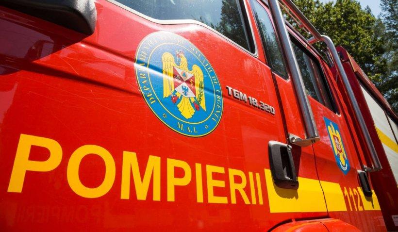 Incendiu la Spitalul de Psihiatrie Vulcan, din Brașov. 150 de pacienți au fost evacuați