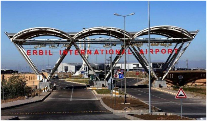 """Un atac cu """"drone armate"""" a vizat sâmbătă seară aeroportul internaţional Erbil din Irak"""