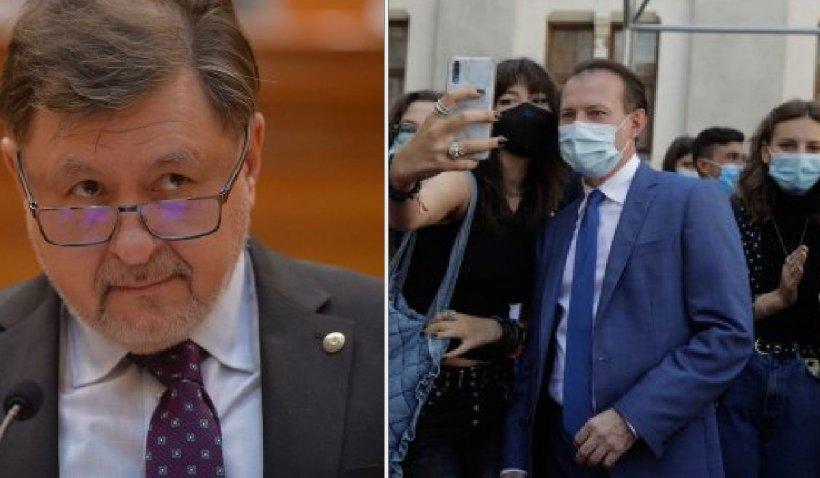 """Alexandru Rafila, despre Florin Cîţu: """"A trecut de la postura de prim-ministru la cea de prim nuntaș al României"""""""