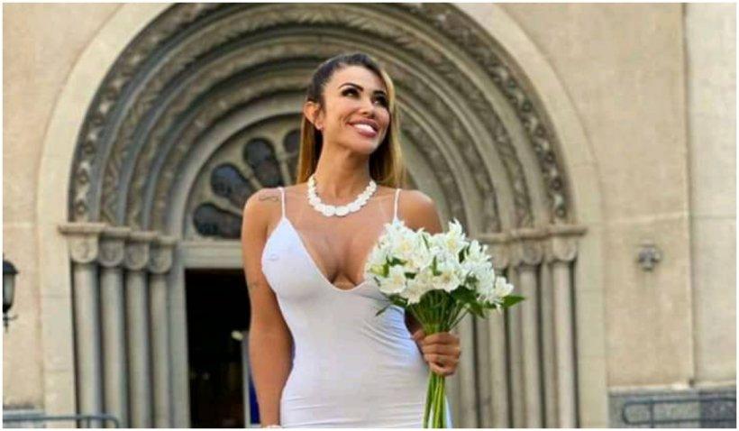 """Un model brazilian s-a măritat cu ea însăși: """"Nu voi divorța niciodată de mine"""""""