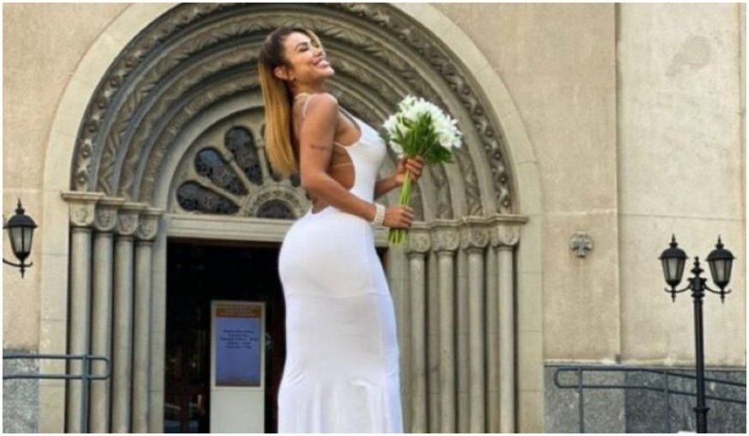 """Un model brazilian s-a măritat cu ea însăși: """"Nu voi divorța niciodată de mine"""" 726582"""
