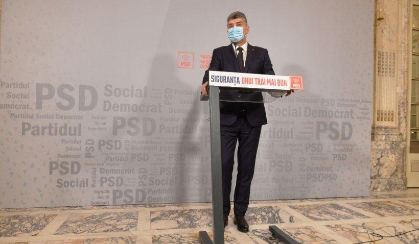 PSD va vota moțiunea de cenzura inițiată de USR PLUS și AUR