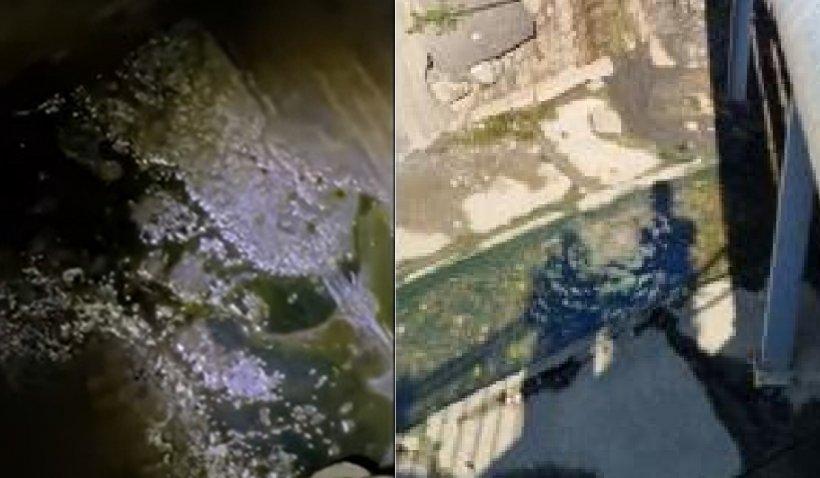 Turiştii dintr-o staţiune balneară au sunat la 112 după ce au observat produse petroliere în pârâul care traversează zona