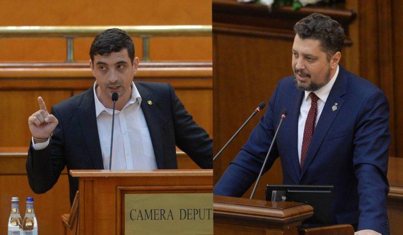 """AUR anunţă greva parlamentară dacă nu se votează moţiunea: """"Protestăm împotriva acestui abuz de putere"""""""