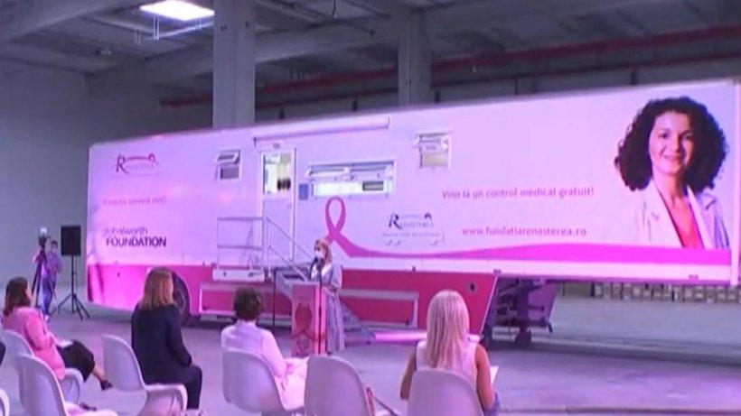 Caravană mobilă pentru depistarea cancerului de col uterin