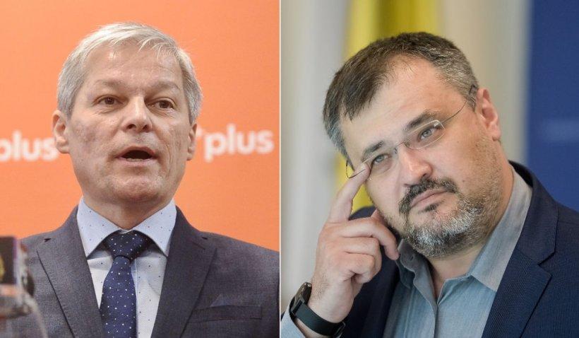 """Dacian Cioloș, replică dură pentru Ghinea: """"Nu mă las folosit de nimeni, indiferent de beneficii"""""""
