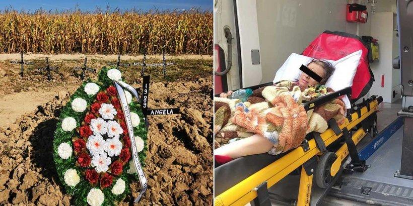 O fetiţă din Mureş a fost despărţită de mama grav bolnavă înainte ca femeia să se stingă din viaţă