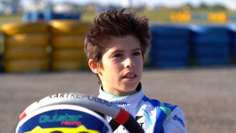 Are doar 12 ani şi este în top 5 la nivel modial. El este puştiul din România care a uimit lumea kartingului