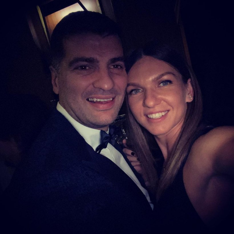 Cine sunt nașii cuplului Simona Halep - Toni Iuruc
