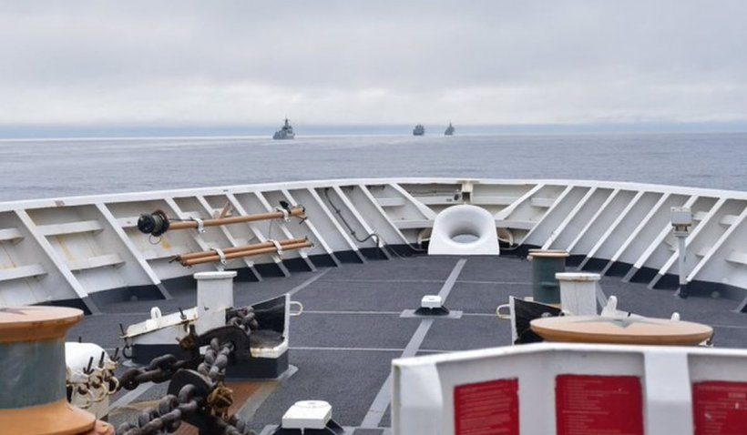 China a sfidat SUA înainte de pactul AUKUS: a trimis nave de război în largul insulelor Aleutine