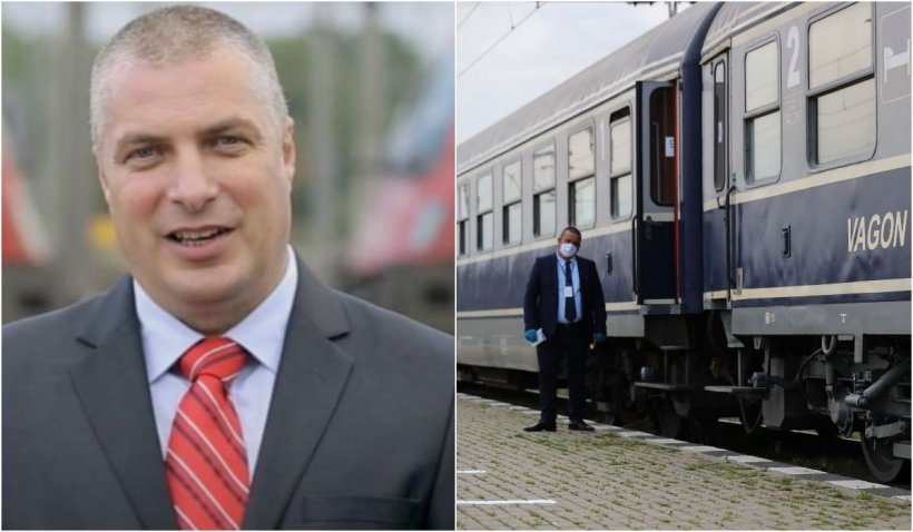 Ovidiu Vizante și-a dat demisia de la șefia CFR Călători