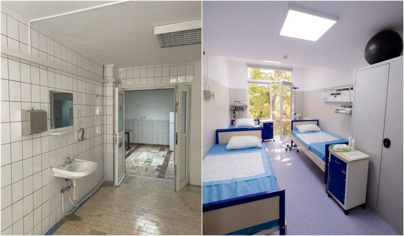 Secție renovată complet în cadrul Spitalului Clinic Polizu. Investiția totală a fost de 560.000 de euro