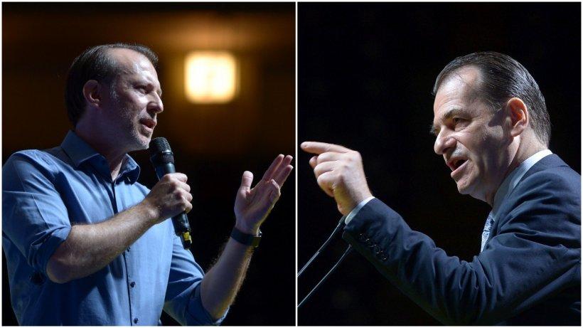 Purtătorul de cuvânt al PNL: Cifrele arată că Ludovic Orban îl învinge pe Florin Cîțu