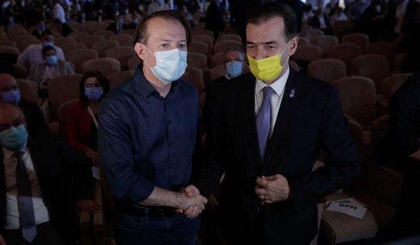 Florin Cîţu şi Ludovic Orban, umăr la umăr cu o săptămână înainte de congres