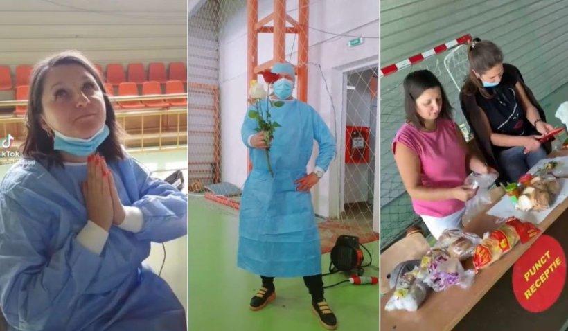 Angajaţii unui centru de vaccinare din Botoşani s-au apucat de TikTok, în lipsa pacienţilor care vor să se vaccineze