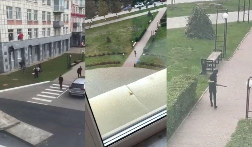Atac armat la o universitate din Rusia. Un student de 18 ani a omorât șase oameni