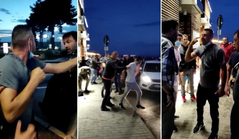 Bătaie cruntă între mai mulți bărbați, pe Aeroportul din Suceava. Paznicii nu au intervenit