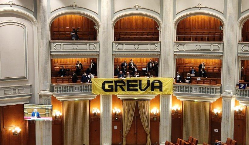 """George Simion anunţă grevă parlamentară: """"Îi avertizez că nu îşi pot bate joc de români în halul ăsta"""""""