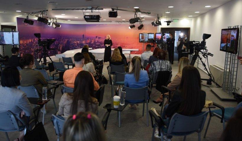 Intact Media Academy a început cursurile celei de-a XXII-a serii de viitori jurnaliști de televiziune