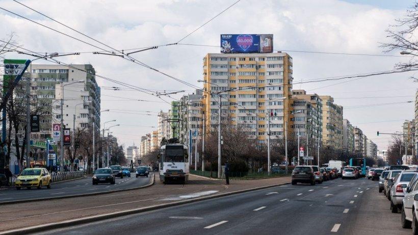 Restricții temporare de circulație pe două artere din București