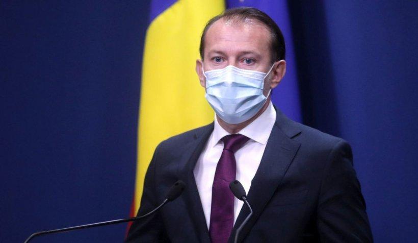 """Florin Cîţu spune că USR e partener cu antivacciniştii de la AUR: """"Tranzacţionează sănătatea românilor"""""""
