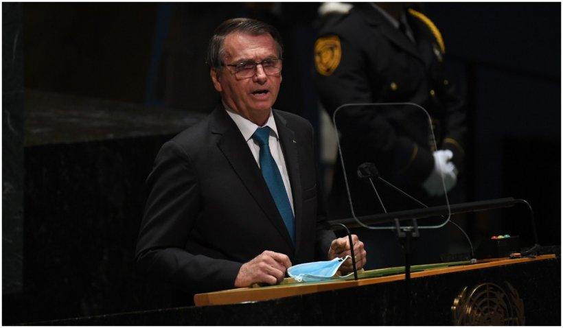 Președintele nevaccinat al Braziliei a spus în fața Adunării Generale a ONU că vrea să lupte împotriva COVID-19