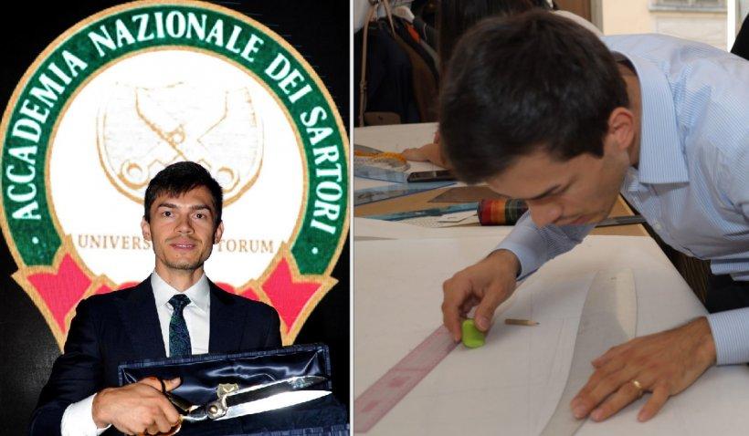 Performanţă unică realizată de un tânăr român. A câştigat marele premiu din lumea croitoriei la comandă din Italia