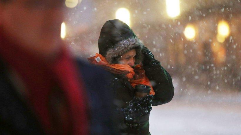 Avertizare meteo de vreme deosebit de rece, lapoviță și ninsori în România