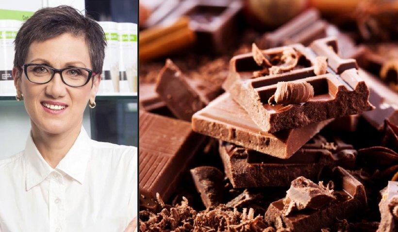 Nutriţionist Corina Zugravu, despre beneficiile ciocolatei. Când este sănătos să o mâncăm şi în ce cantităţi