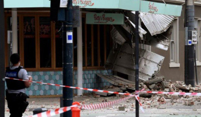 Un cutremur puternic a zguduit sud-estul Australiei. Clădiri avariate la Melbourne