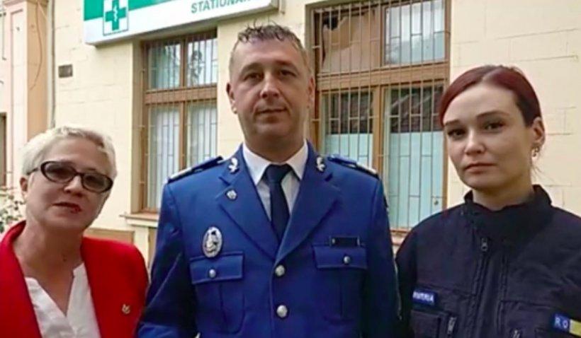 Gest impresionant al jandarmilor din Caraș-Severin: Au renovat și pictat un spital din Reșița în 100 de zile