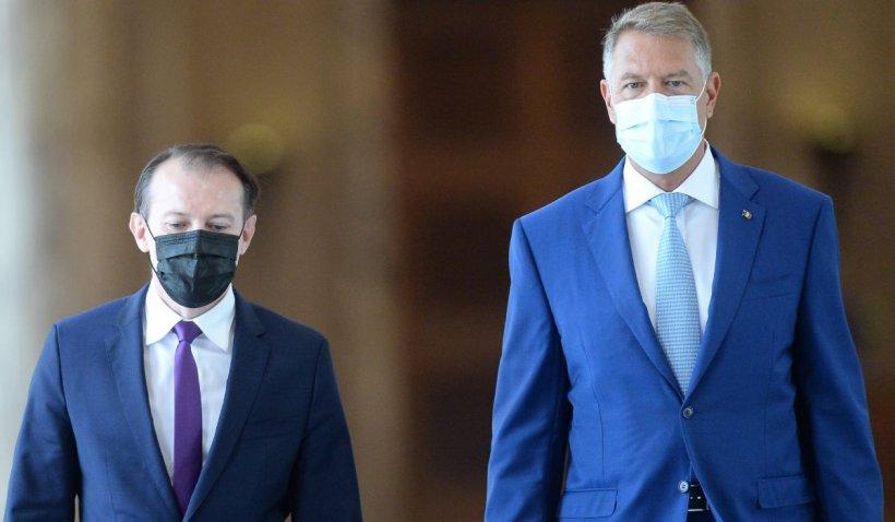 """Klaus Iohannis: """"Premierul Cîţu nu are motive să demisioneze sau să fie demis"""""""