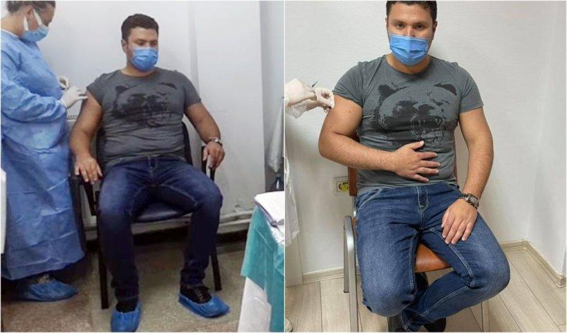 Primarul din Rădăuţi a simulat vaccinarea anti-COVID ca să arate mai bine în poze