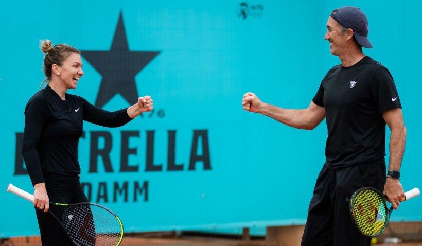 Simona Halep renunță din nou la antrenorul Darren Cahill