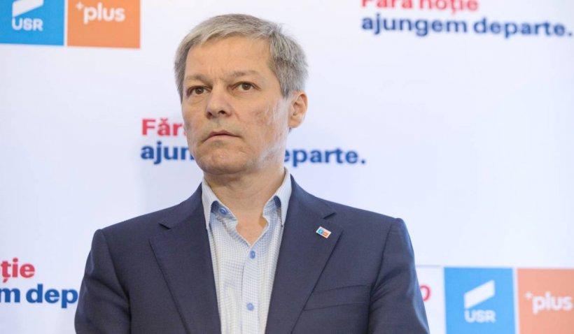 """Dacian Cioloș, după victoria în primul tur al alegerilor USR-PLUS: """"Nu m-am așteptat"""""""