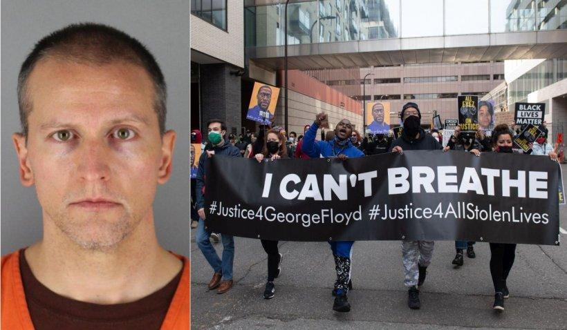 Derek Chauvin, polițistul condamnat pentru uciderea lui George Floyd, a făcut apel la sentința de 22 de ani de detenție