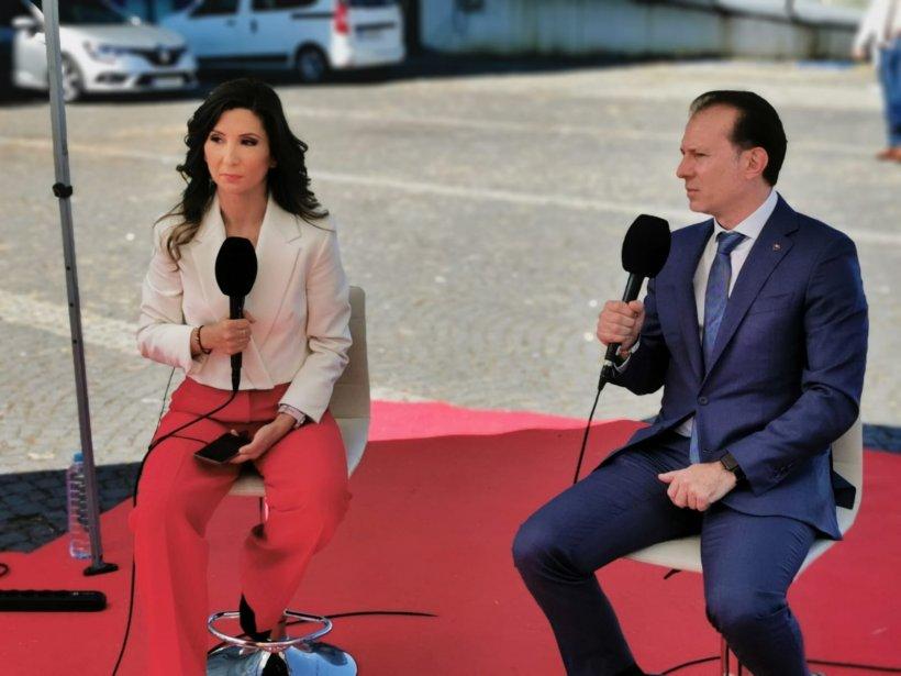 """Florin Cîțu, la Antena 3: """"Dacă se rupe alianța USR-AUR există șanse foarte mari să refacem coaliția"""""""