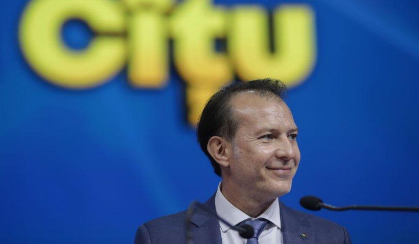 """Congres PNL septembrie 2021. Florin Cîțu, discurs după victorie: """"Nu mă surprinde alegerea"""""""