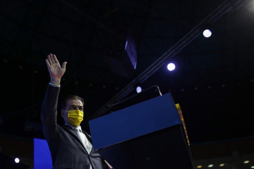 """Ludovic Orban, primul discurs la Congresul PNL: """"PNL a guvernat bine în cea mai mare criză după Al Doilea Război Mondial"""""""