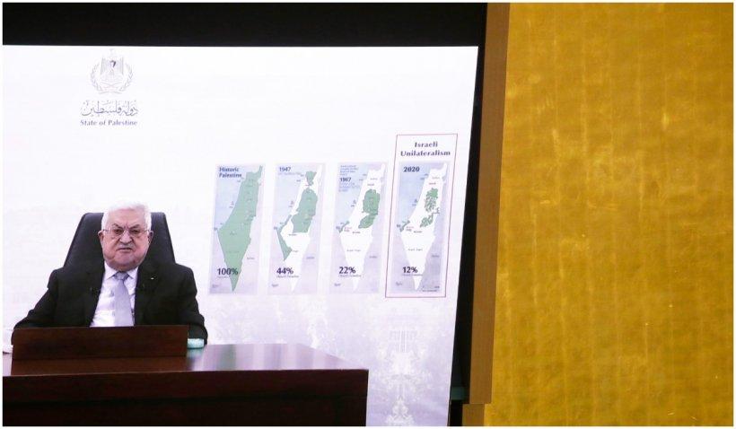 Mahmoud Abbas i-a dat Israelului un an să se retragă din teritoriile palestiniene