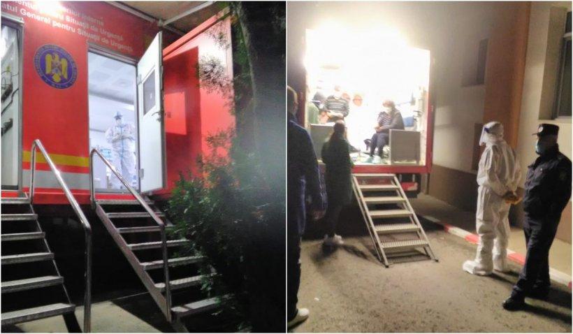 Noapte de foc la Spitalul de Boli Infecţioase din Iaşi. Ambulanţele, la coadă în curte, 99% dintre pacienți, nevaccinați