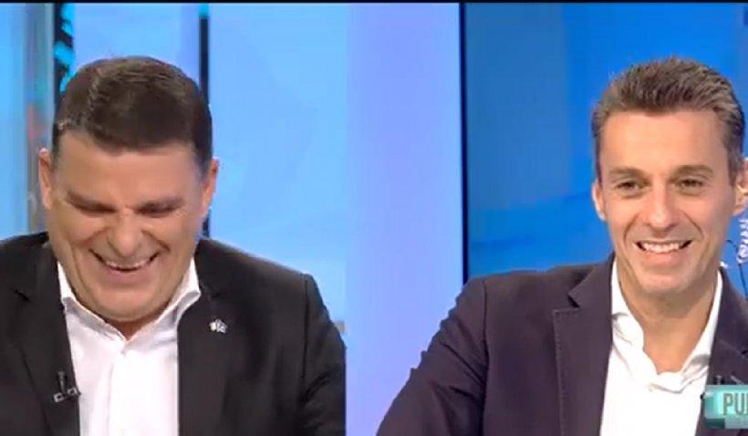 """Mircea Badea, 17 ani la Antena 3. Moment epocal la """"În gura presei"""": """"Nu mănânc sănătos. Eu mănânc tablă zincată, la propriu"""""""