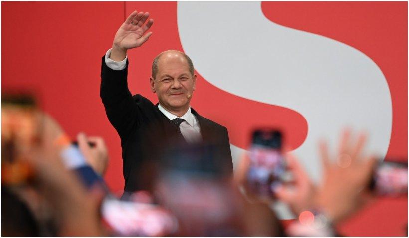 Delegația Română PSD din Parlamentul European îl felicită pe candidatul SPD, Olaf Scholz, pentru câștigarea alegerilor din Germania