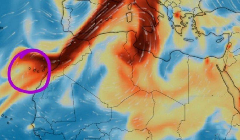 Norul toxic de cenușă vulcanică a intrat în România. Medicii fac apel la populaţie să se protejeze