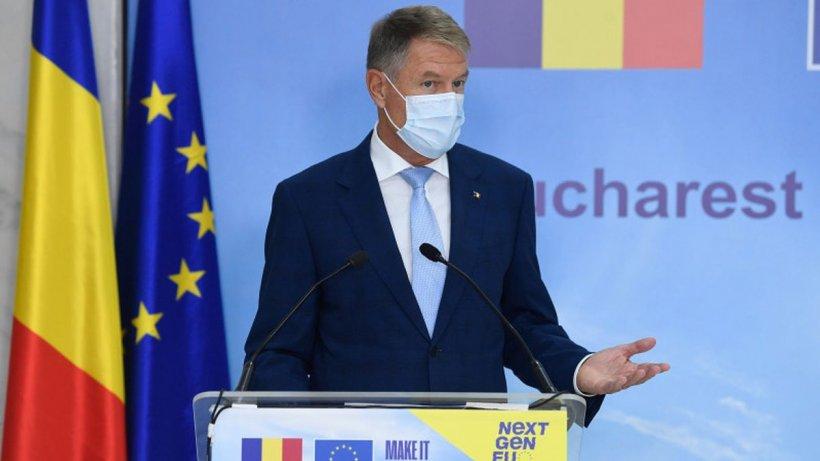 """Declarație hilară a președintelui Iohannis: """"Sunt foarte mulți români care s-au vaccinat! Păcat că sunt așa puțini!"""""""