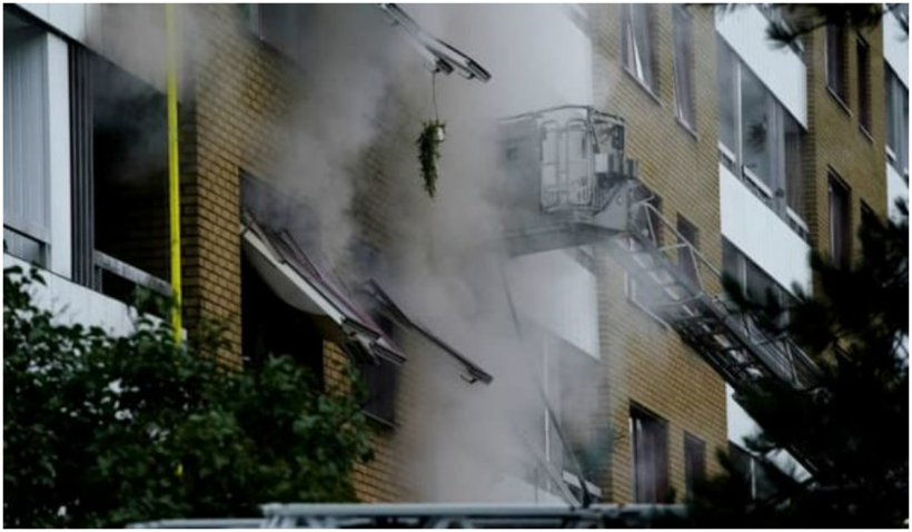 25 de oameni au fost răniți într-o explozie care a avut loc în centrul orașului Goteborg