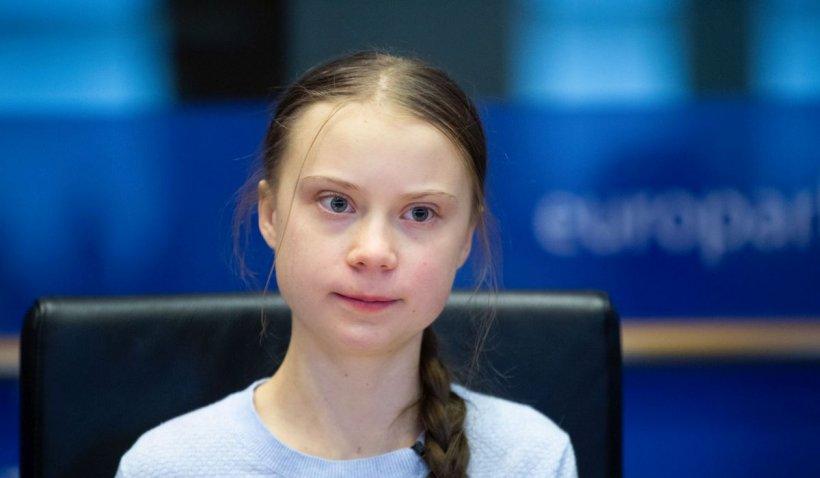 """Greta Thunberg și-a bătut joc de discursurile lui Boris Johnson și Emmanuel Macron: """"Bla, bla, bla!"""" Avertismentul activistei suedeze"""