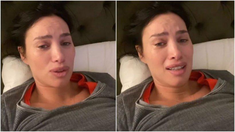 """Modelul Alina Pușcău, în lacrimi după ce s-a infectat cu tulpina Delta: """"Mi-a distrus tot în organism!"""""""