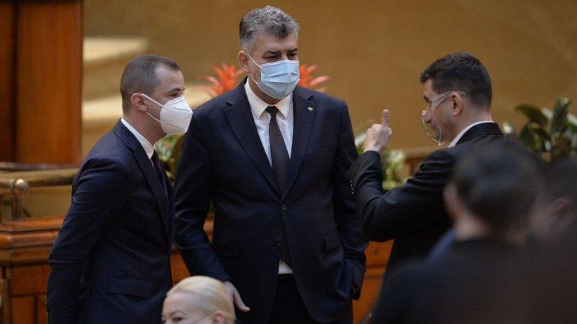 PSD a depus moțiunea de cenzură împotriva Guvernului Cîțu